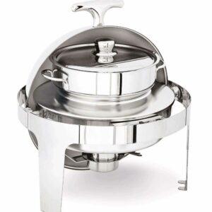 Чафиндиш Линия классик с контейнером для супа 6 лт с подогревом на спиртовом геле Open Buffet Kapp 54010720 2