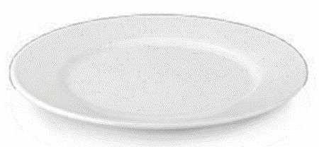 Мелкая Тарелка из Покарбоната 23 см Белая Table Top Kapp 46040023 2