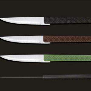 Нож для стейка с пластиковой ручкой Разные декоры Comas 3110 2