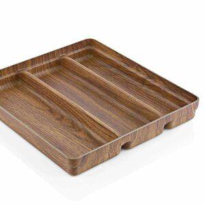 Раздвижной лоток для столовых приборов 3 COMPARTMENT Кухонные принадлежности Evelin 10109 2
