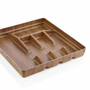 Раздвижной лоток для столовых приборов 32 X 35 см Кухонные принадлежности Evelin 10129 2