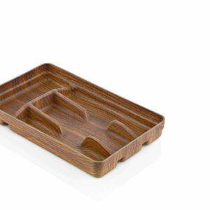 Раздвижной лоток для столовых приборов 4 COMPARTMENT Кухонные принадлежности Evelin 10104 2