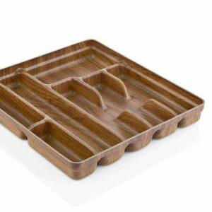 Раздвижной лоток для столовых приборов 7 COMPARTMENT Кухонные принадлежности Evelin 10107 2