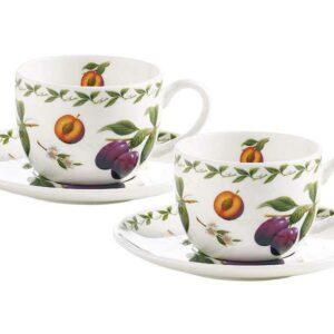 Набор 2 чашки 2 блюдца Слива Чашка Maxwell Williams 55822 2
