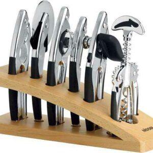 Набор кухонных инструментов хром 7 пр NADOBA SIRENA2