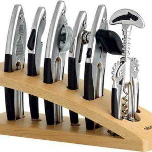 Набор кухонных инструментов матовый хром 7 пр NADOBA UNDINA 2
