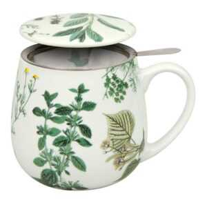Кружка заварочная Мой любимый чай с мятой Konitz