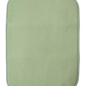 Коврик для сушки посуды 38х51см зеленый 1