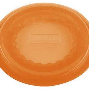 Крышка силиконовая Silikomart 8см оранжевая 1