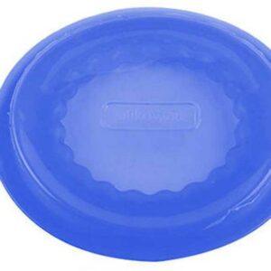 Крышка силиконовая Silikomart 8см синяя 1