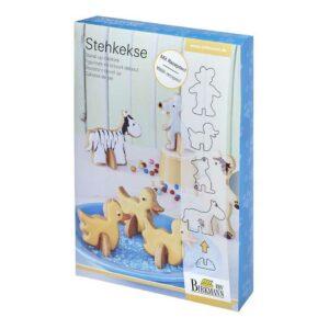 Набор для печенья на подставках Birkmann Животные 1
