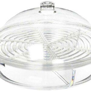 Набор для закусок Prodyne 3 предмета чаша емкость для льда крышка 27х15см 1