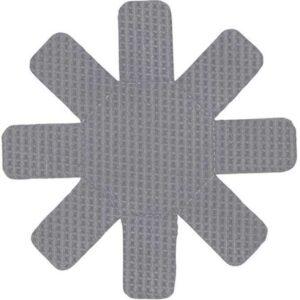 Набор из 2 ковриков защитных для антипригарного покрытия серый 1