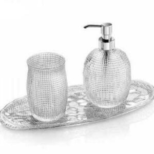 Набор предметов для ванной комнаты IVV Диаманте 3пр