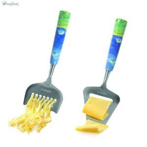 Набор слайсеров для полутвёрдых и твёрдых сыров Ван Гог 2шт 1