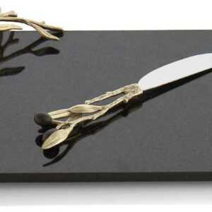 Нож для пиццы Michael Aram Золотая оливковая ветвь 23см 1
