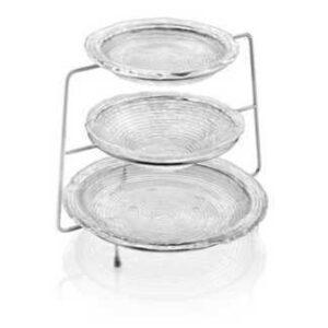 Подставка для тарелок IVV Круги на воде 23см металлическая