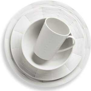 Сервиз чайно-столовый Lenox Праздник 365 1 3 белый