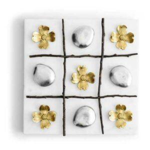 Игра в крестики-нолики Michael Aram Цветок Кизила 23х23см 2